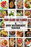 2000 Calorie Diet Planner& Body Measurement Tracker: This planner involves an easy-to-follow meal planning and calorie intake in day guide.