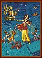 ポスター ジェームス フレームス Mondo Snow White 白雪姫 Cyclops Print 限定305枚 手書きナンバリング入り 額装品 ウッドハイグレードフレーム(ナチュラル)