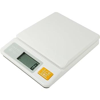 ドリテック デジタルキッチンスケール 2kg ホワイト KS-233WT