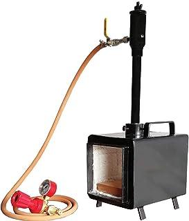 Blacksmiths Propane Forge Single Burner Gas Forge Farrier Furnace Knife making