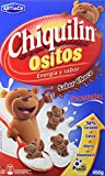 Artiach Chiquiln Ositos - Galletas de cereales sabor Chocolate, 450 g - [Pack de 4]