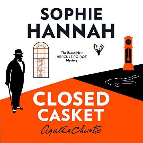 Closed Casket: The New Hercule Poirot Mystery audiobook cover art