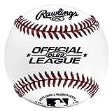Rawlings ROLB3 Practice Ball - Pelota de béisbol (28,2 cm), color blanco
