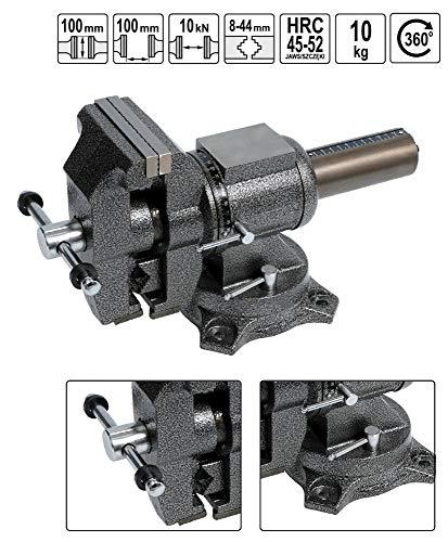 Werkbank Schraubstock Multifunktions 100 mm 360° drehbar mit Amboss