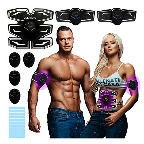 AMVG Electroestimulador Muscular Cinturon Mujer Tens Electroestimulador Estimulador Muscular Electroestimulador Muscular Abdominales Abdominales Electroestimulacion Electro Estimulador Power Legs Ems