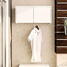 Politorno Wall Cabinet Made of MDF Wood, White