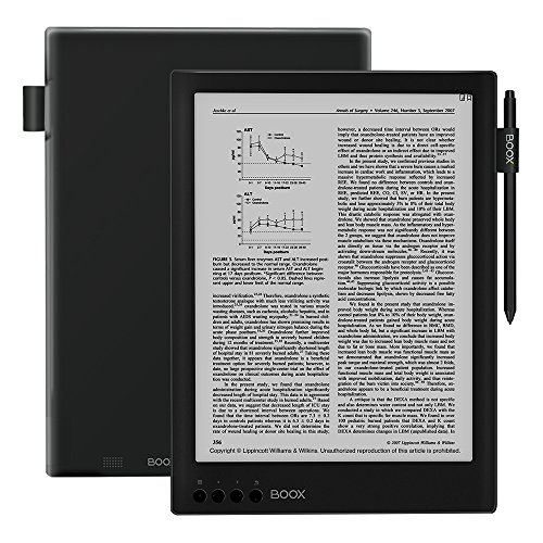 BOOX Max2 Ereader,Android 6.0 32 GB,13.3' Dual-Touch HD Display