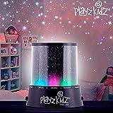 Hasëndad Play Kidz Lámpara LED, Proyector de Estrellas, Negro, 10,5 x 11,5 cm