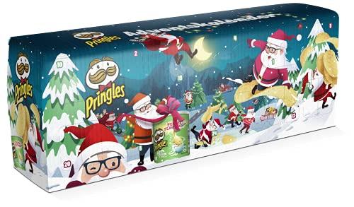 Handelshaus Huber-Koelle Pringles Chips-Adventskalender DUNKELBLAU, 150 g