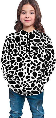 Lou Chapman Niños Niñas Sudaderas con Capucha Fleece Leopard # 3 Bolsillos Sudaderas Fleece Hoodies 7-20Y