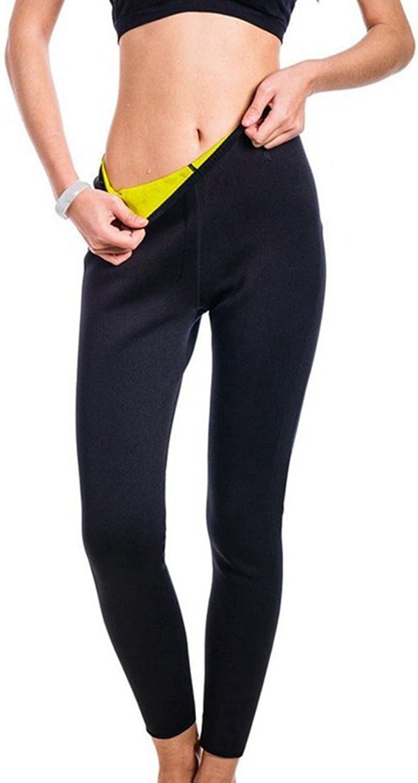 AOBRITON Neoprene Leggings Shapers Women Control Panties Waist Shapewear Women Sweat Sauna Slim Body Shaper