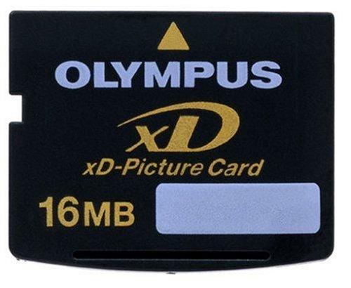 Olympus - flash memory card - 16 mb - xd 1 16mb olympus xd picture card