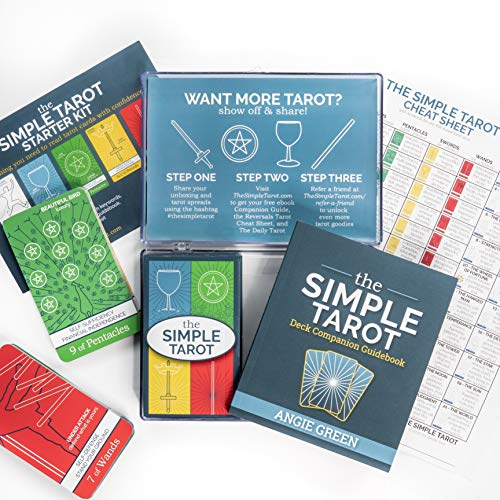 The Simple Tarot Deck Starter Kit: Beginner Tarot Cards and Guidebook