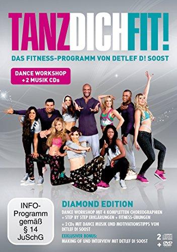 Detlef D! Soost - Tanz dich fit (Diamond Edition, + 2 Audio-CDs) [3 DVDs]