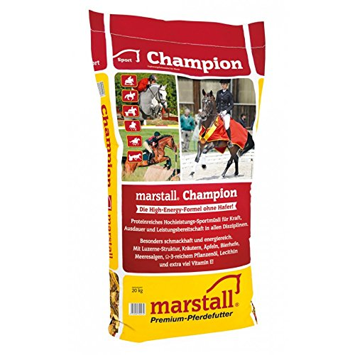 marstall Premium-Pferdefutter Champion, 1er Pack (1 x 20 kilograms)