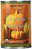 Trader Joe's Organic Canned Pumpkin (1 Can) 15 Oz - PACK OF 4