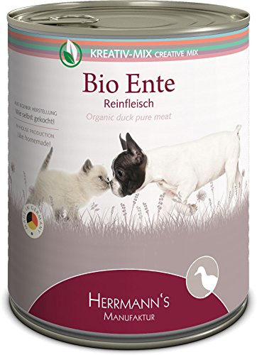 Herrmann Bio Ente 100 Prozent, 6er Pack (6 x 800 g)