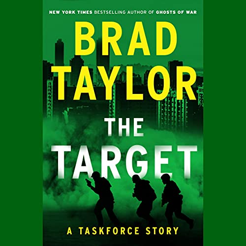 The Target Audiobook By Brad Taylor cover art