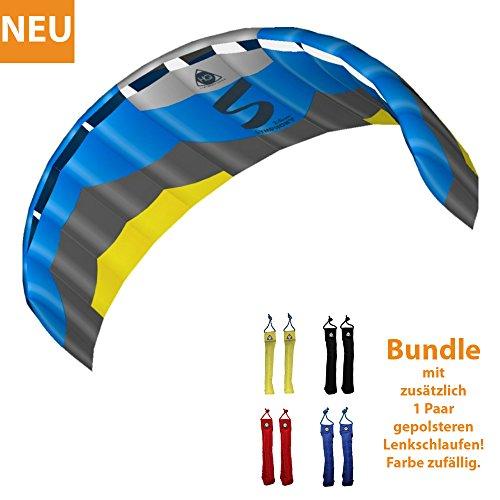 HQ Lenkdrachen Lenkmatte Drachen Symphony Pro 2.5 Edge Bundle Kite