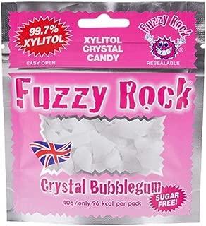 Fuzzy Rock Xylitol Candy 40g Bubble Gum Flavor