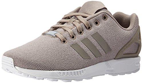 adidas Originals Women's ZX Flux W Running Shoe Sneaker, Vapour Grey/Silver Metallic, 7 M US