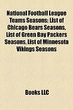 National Football League Teams Seasons: List of Chicago Bears Seasons, List of Green Bay Packers Seasons, List of Minnesota Vikings Seasons