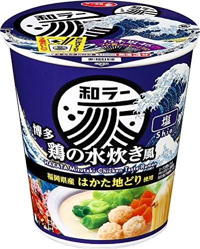 サッポロ一番和ラー博多鶏の水炊き風73g×12食
