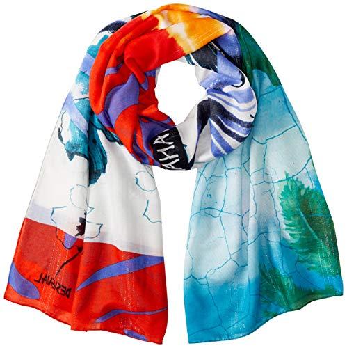 Desigual Pañuelo Hawaii Multicolor para Mujer.