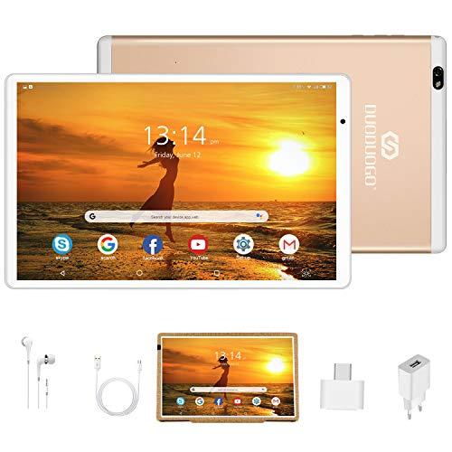 Tablet 10.1 Pulgadas Android 10 Quad Core, Certificación Google...