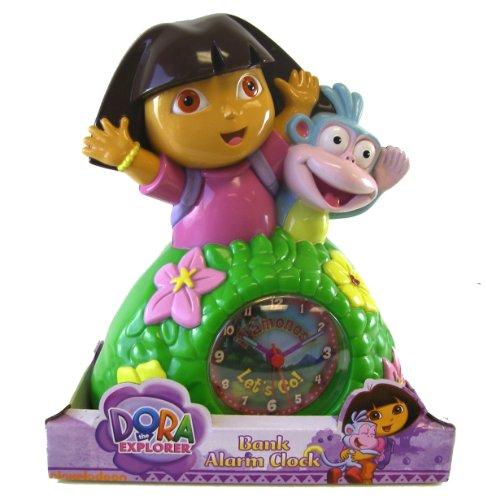 Dora the Explorer Bank Alarm Clock