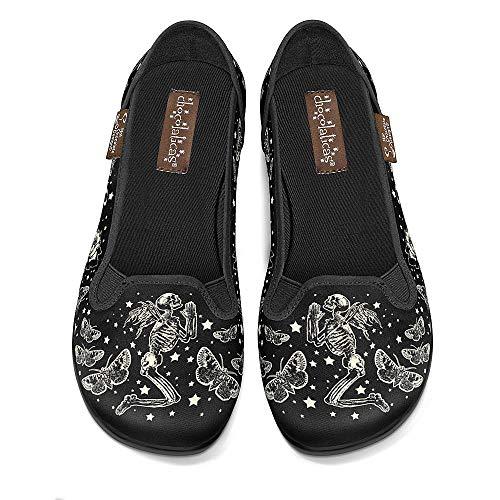 Hot Chocolate Design Chocolaticas Fallen Angels Women's Slip-On Fashion Sneaker Flat Multicoloured HCD 38
