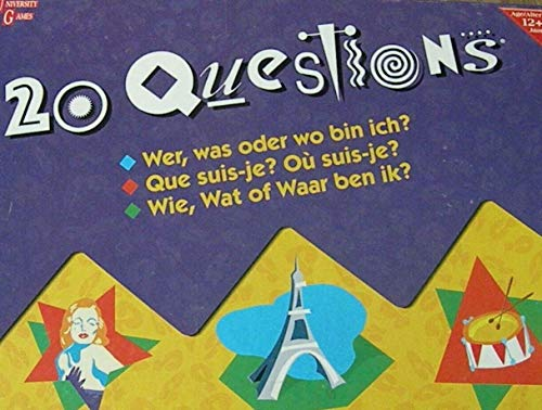 20 Questions by University Games