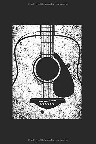 Gitarre | Notizheft/Schreibheft: Gitarren Notizbuch Mit 120 Gepunkteten Seiten (Dotgrid). Als Geschenk Eine Tolle Idee Für Gitarristen, Musiker Oder Band Mitglieder