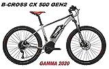 ATALA BICI ELETTRICA E-Bike B-Cross CX 500 GEN2 Gamma 2020 (18' - 46 CM)