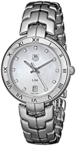 TAG Heuer Women's WAT1315.BA0956 Link Analog Display Quartz Silver Watch image