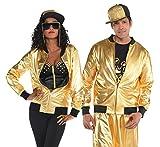 90er-Jahre hip Hop Goldene Jacke - 40-42'