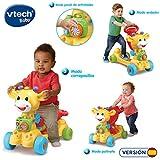 VTech Jirafa Scooter 4 en 1, andador evolutivo con actividades que se transforma en...