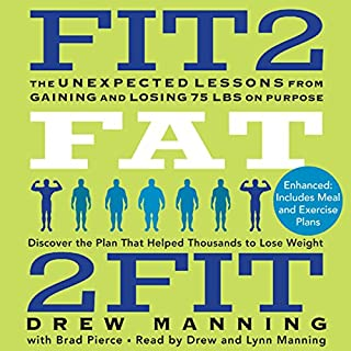 Fit2Fat2Fit audiobook cover art