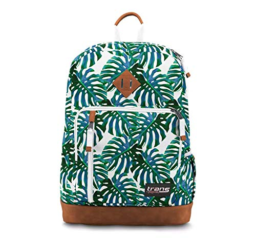 Trans by JanSport 18' Dakoda Backpack, Monstera Falls School Travel Daypack