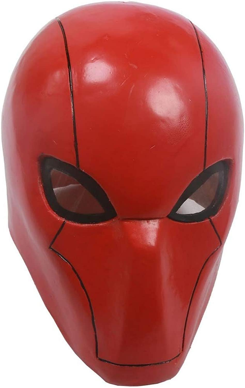 Red black Head Hood Maske Cosplay Helme Halloween Cosplay Maske Karnevals Kostüm