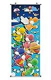 Poster para enrollar | Kakemono de Yoshi's Crafted World Hecho de paño | 100x40cm