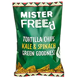*Healthy ORGANIC GLUTEN FREE Pure Green Goodness! *100% VEGAN Tortilla Crisps Great for Salsa, Dips or Just On Their Own! *With SUPERFOOD Ingredients These Kale Chips Are A Great Source of Fibre *A Great Source of PROTEIN With The Same Great Organic ...
