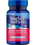 Higher Nature Advanced Brain Nutrients Pack of 30