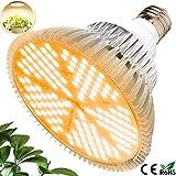 MILYN 100W LED Pflanzenlampe E27 150 LEDs Vollspektrum Pflanzenlicht LED
