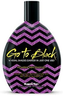 supre go to black tanning lotion