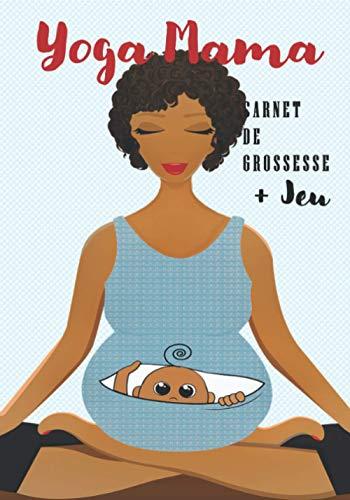 YOGA MAMA | le carnet de grossesse: Cadeau futur maman : Suivi de grossesse |Journal de grossesse| 9 mois avant bébé | Livre de maternité + Jeu ' Tu préfères? spéciale grossesse'