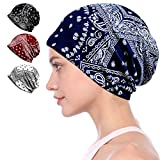 Best Chemo Caps - Ababalaya Women's Kinds of Lace/Floral/Print/Cotton Chemo Cap Hair Review