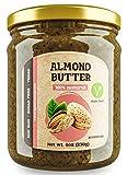 Mantequilla de Almendras 8 oz (230 g) | Mantequilla de Nueces Sin Azúcar | Crema de Almendras 100% Natural | Superalimento Vegano | Mantequilla de Nueces Baja en Carbohidratos | KETO