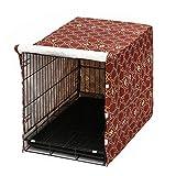 Pethiy Cubierta para Caja de Perro para Gatos de Alambre, se Adapta a la mayoría de Las jaulas de Perro de 36 Pulgadas. Fácil de Poner, Quitar...