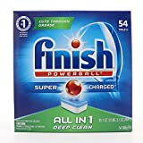 Finish All-in-One Dishwasher Detergent Powerball Tablets, Fresh Scent...